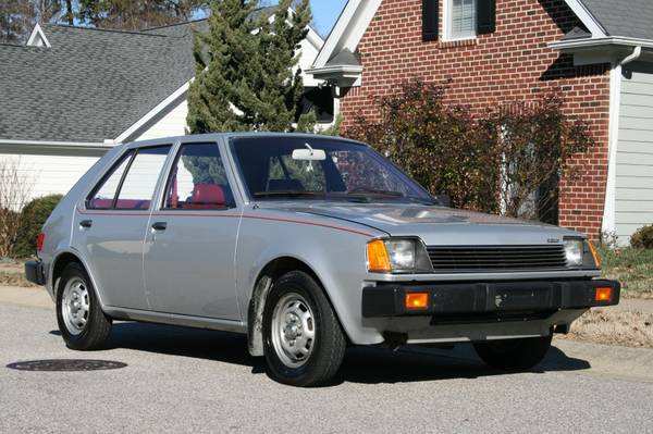 1983 Dodge Colt Twin-Stick Mitsubishi Mirage 01