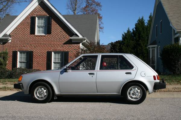 1983 Dodge Colt Twin-Stick Mitsubishi Mirage 03