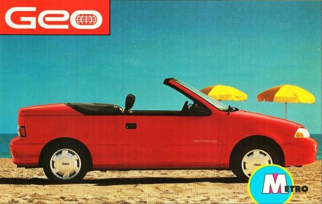 1992 Geo Metro convertible