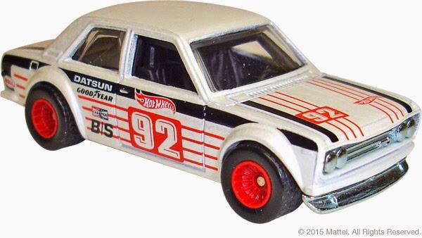 2015 Hot Wheels Heritage line Datsun Bluebird 510