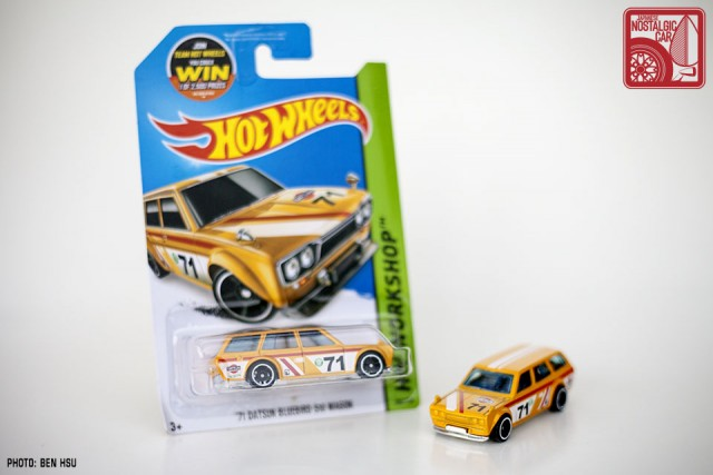 Hot Wheels JNC Datsun 510 Wagon yellow01