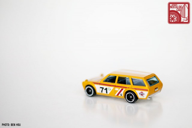 Hot Wheels JNC Datsun 510 Wagon yellow08