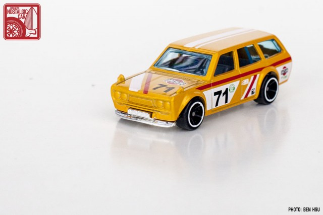 Hot Wheels JNC Datsun 510 Wagon yellow10