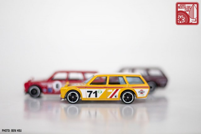Hot Wheels JNC Datsun 510 Wagon yellow18
