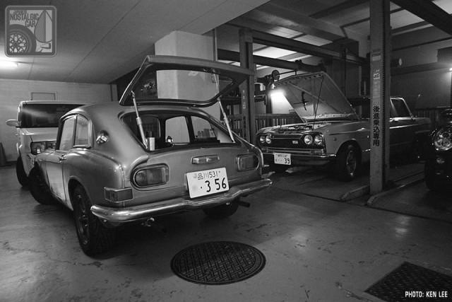 Prince Skyline GT-B & Honda S800 - GR21-909