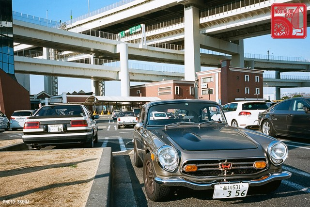 358s_Honda S800 Coupe & AE86
