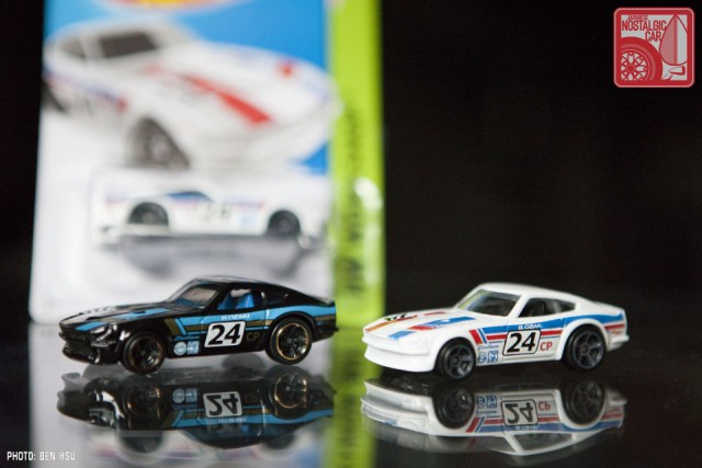 Hot Wheels Datsun 240Z white 2015 JNC 15