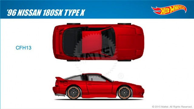 Hot Wheels S13 Nissan 180SX Type-X copy