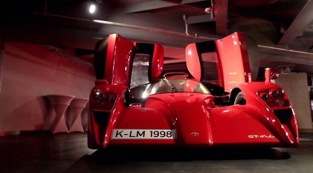 TMG Toyota GT-One road car