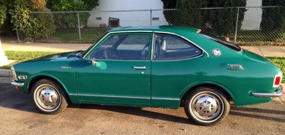 1973 Toyota Corolla TE27 green 01