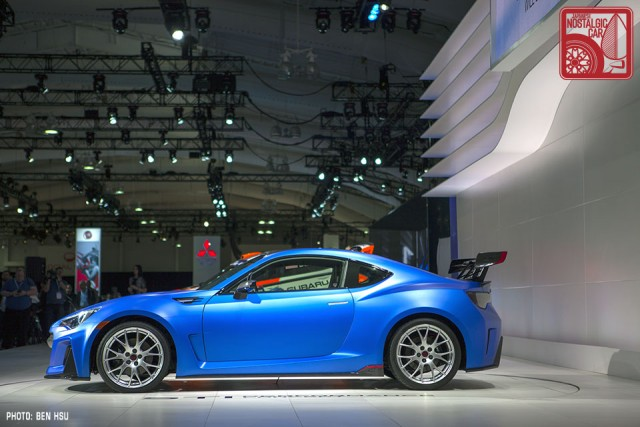 News Subaru Brz Sti Concept Japanese Nostalgic Car