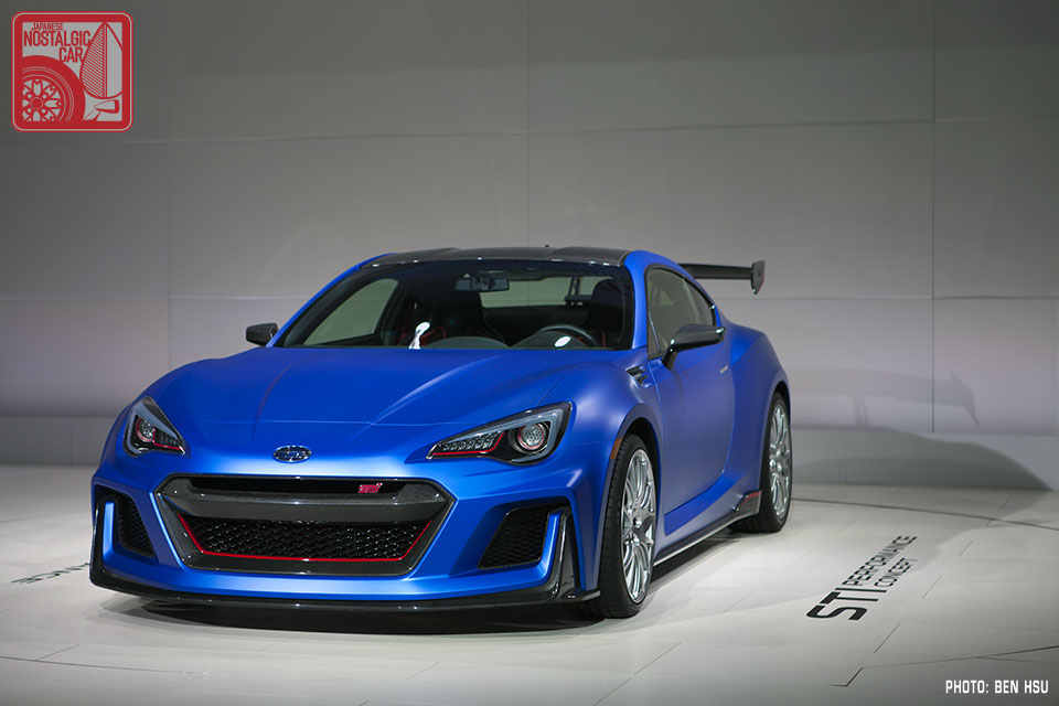 news subaru brz sti concept japanese nostalgic car. Black Bedroom Furniture Sets. Home Design Ideas
