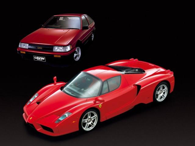 Toyota AE86 Enzo Ferrari