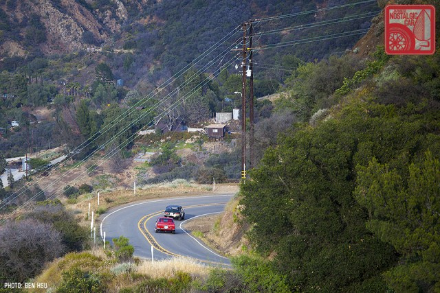 210_Touge California Toyota TE27 & Nissan Bluebird
