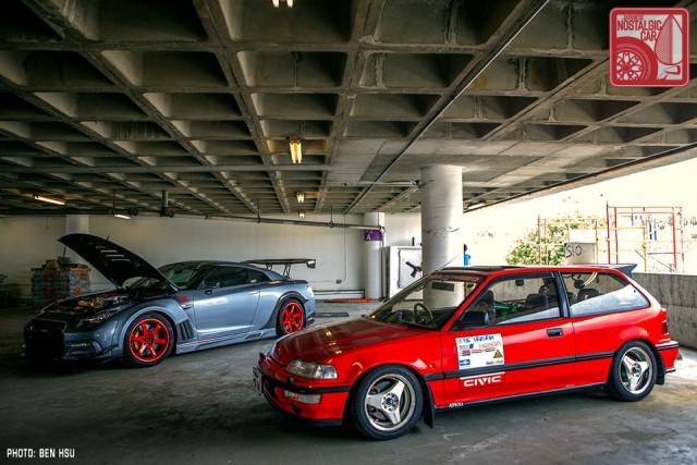 27_Honda Civic EF & Nissan GTR R35