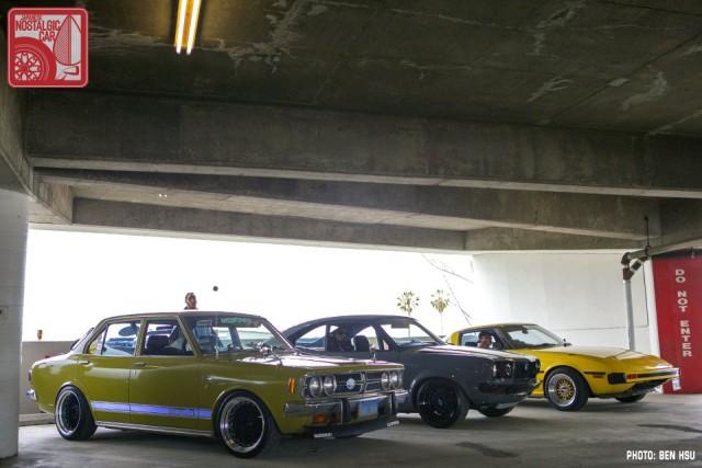 37_Toyota Corona T80 & Mazda RX3 & RX7