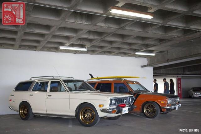 42_Nissan Datsun 610 & 510 wagon