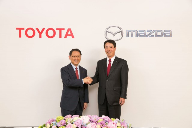 Toyota Mazda partnership 01