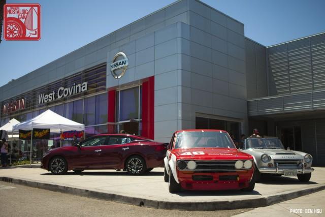 Perfect 04_Nissan Datsun 510 BRE Replica U0026 Fairlady Roadster. The Venue, West  Covina Nissan ...