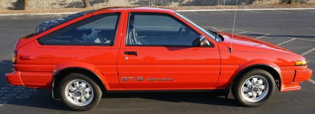 1986 AE86 Corolla GT-S liftback 89k mile 01