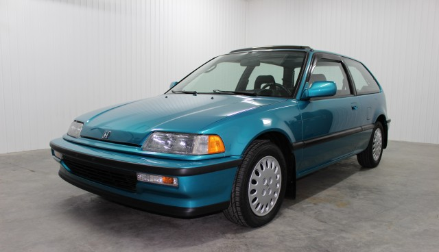 1991 Honda Civic Si Tahitian Green 01