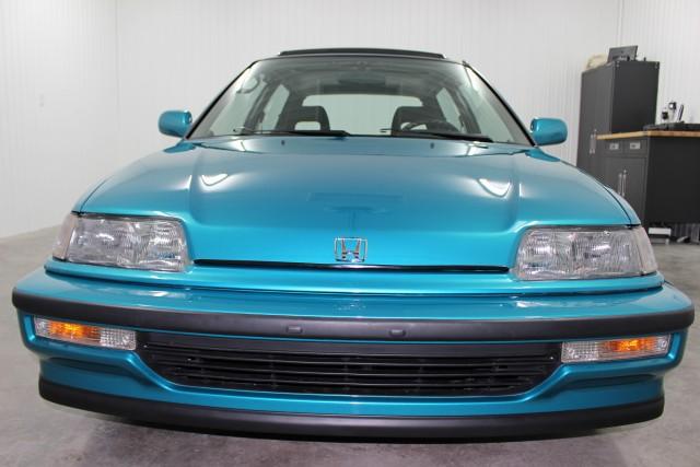 1991 Honda Civic Si Tahitian Green 06