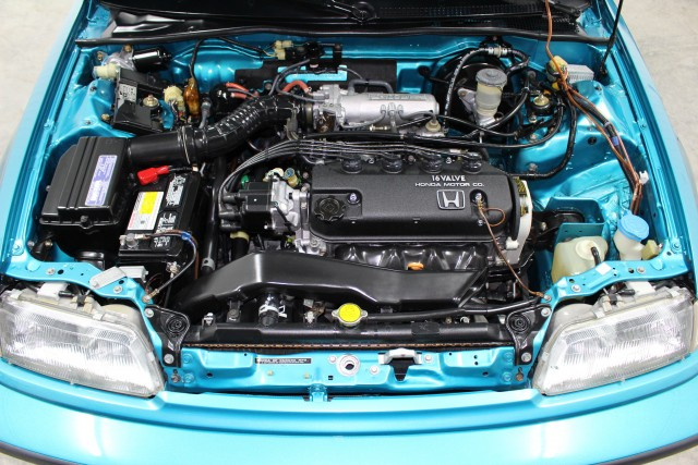 1991 Honda Civic Si Tahitian Green 50