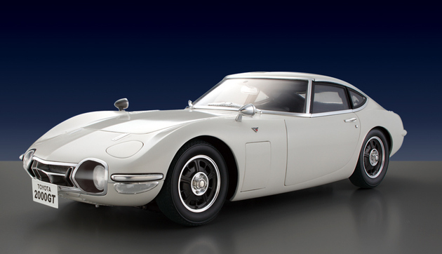 DiAgostini Toyota 2000GT subscription model 03
