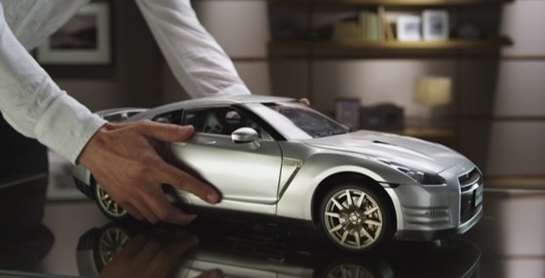 Eaglemoss Nissan Skyline GTR R35 subscription model