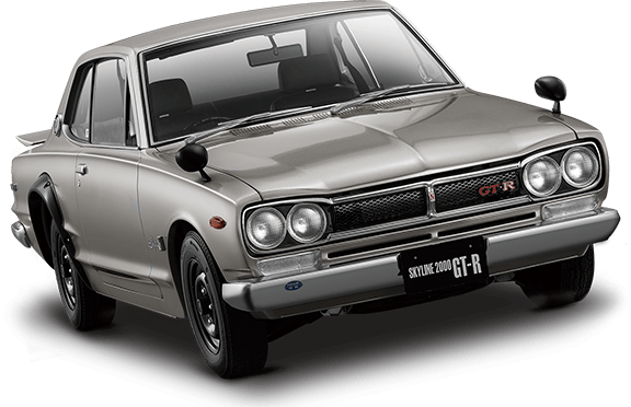Nissan Skyline KPGC10 GT-R Hakosuka subscription model 01