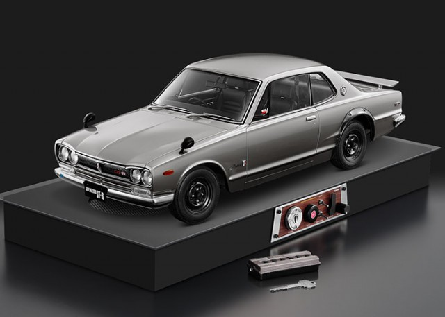 Nissan Skyline KPGC10 GT-R Hakosuka subscription model engine sound