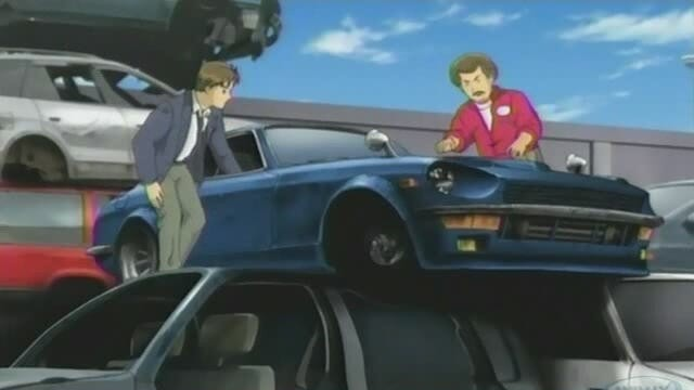 Wangan Midnight Devil Z junkyard