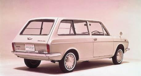 1968 Subaru 1000 2Door Van Deluxe