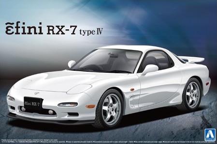 Aoshima Mazda RX-7 FD3s Enfini model kit