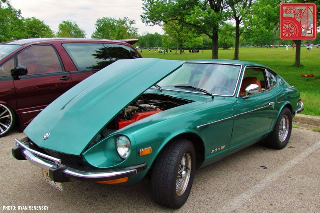 Datsun 260Z Front Team_Nostalgic Chicago
