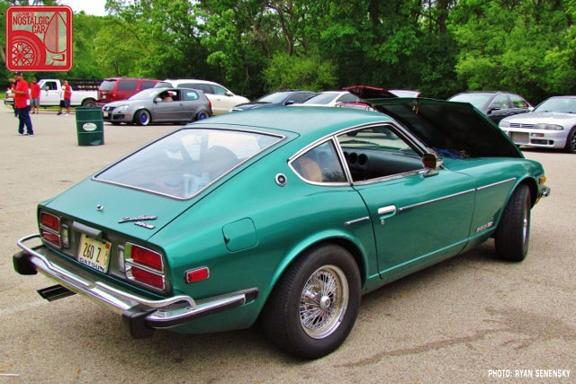 Datsun 260Z Rear Team_Nostalgic Chicago