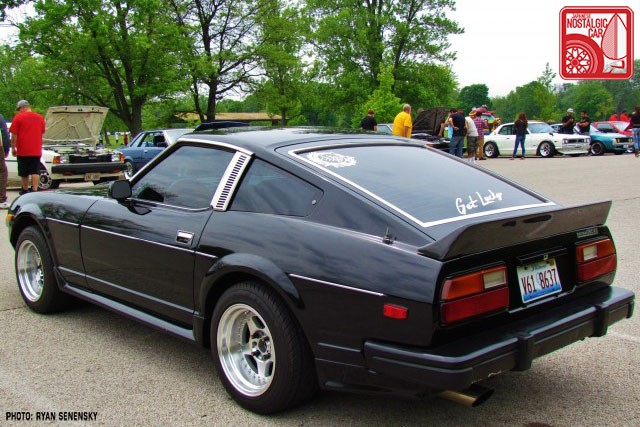 Datsun 280ZX S130 Rear Team_Nostalgic Chicago