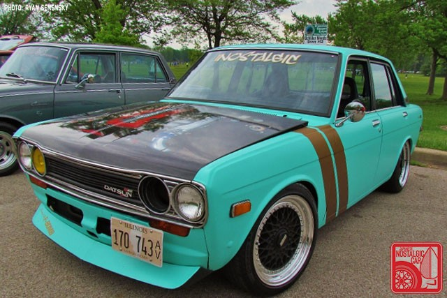 Datsun 510 Sedan Front Team_Nostalgic Chicago
