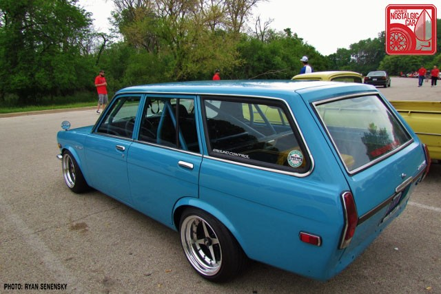 Datsun 510 Wagon Side Rear Team_Nostalgic Chicago