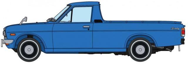 Hasegawa Nissan Sunny B120 truck zenki