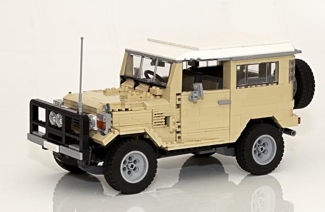 minicars should lego make an official land cruiser kit. Black Bedroom Furniture Sets. Home Design Ideas