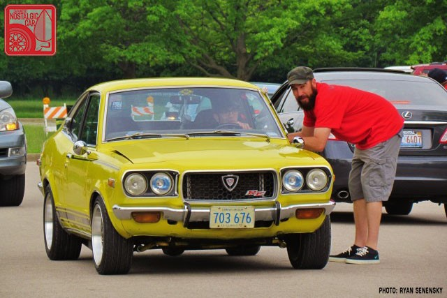 Mazda RX3 Roll in Team_Nostalgic Chicago