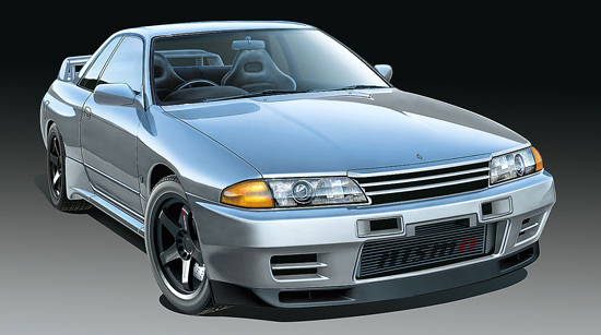 Tamiya Nissan Skyline GT-R R32 model kit