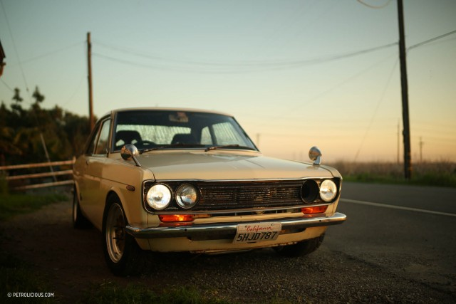 Troy Ermish 510 Nissan Bluebird Coupe 01