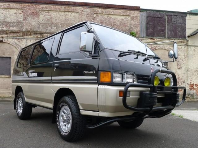 1989-Mitsubishi-Delica-Front