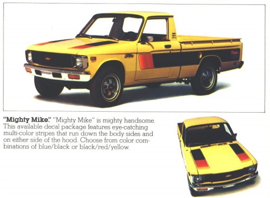 Chevy LUV Mighty Mike