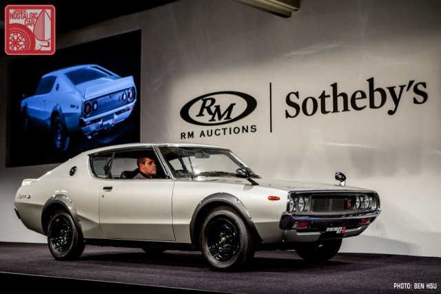 VIDEO: Watch a Kenmeri Nissan Skyline GT-R sell for $176,000 ...