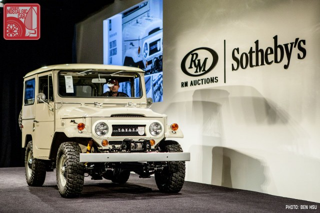 Toyota Land Cruiser FJ40 auction 37