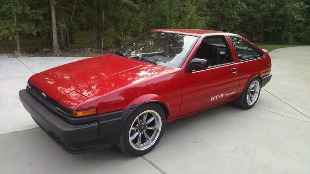 1987 Toyota Corolla AE86 14500mi 27