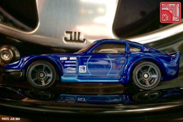 2016 Hot Wheels Nissan Fairlady Z - blue 02